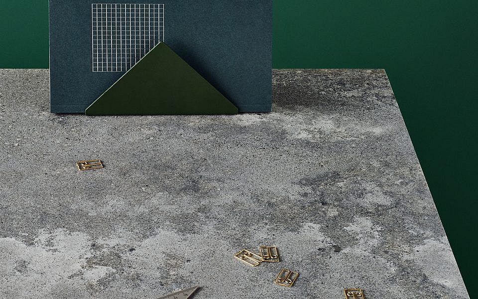 4033 Rugged Concrete в интерьере