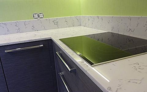 GT8157 Carrara Extra в интерьере