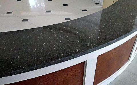 GTB033 Grey Granite в интерьере