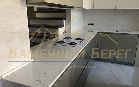 кухонная столешница Bianco Venato BQ8440
