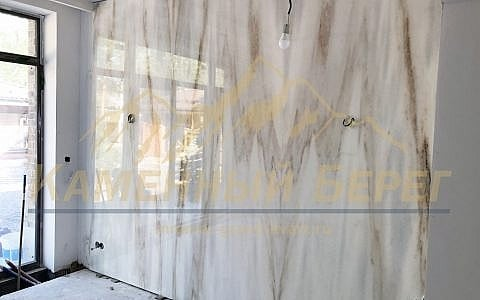 стеновые панели из мрамора Boheme