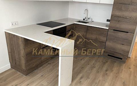 кухонная столешница Smartquartz White Marble