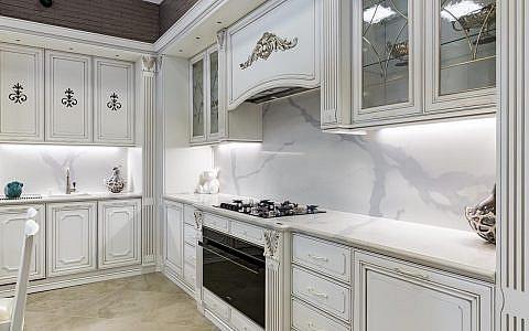кухня SmartQuartz Statuario Classico